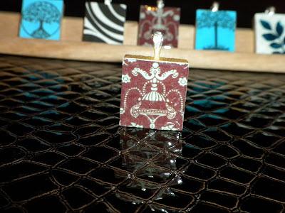 Scrabble pendents