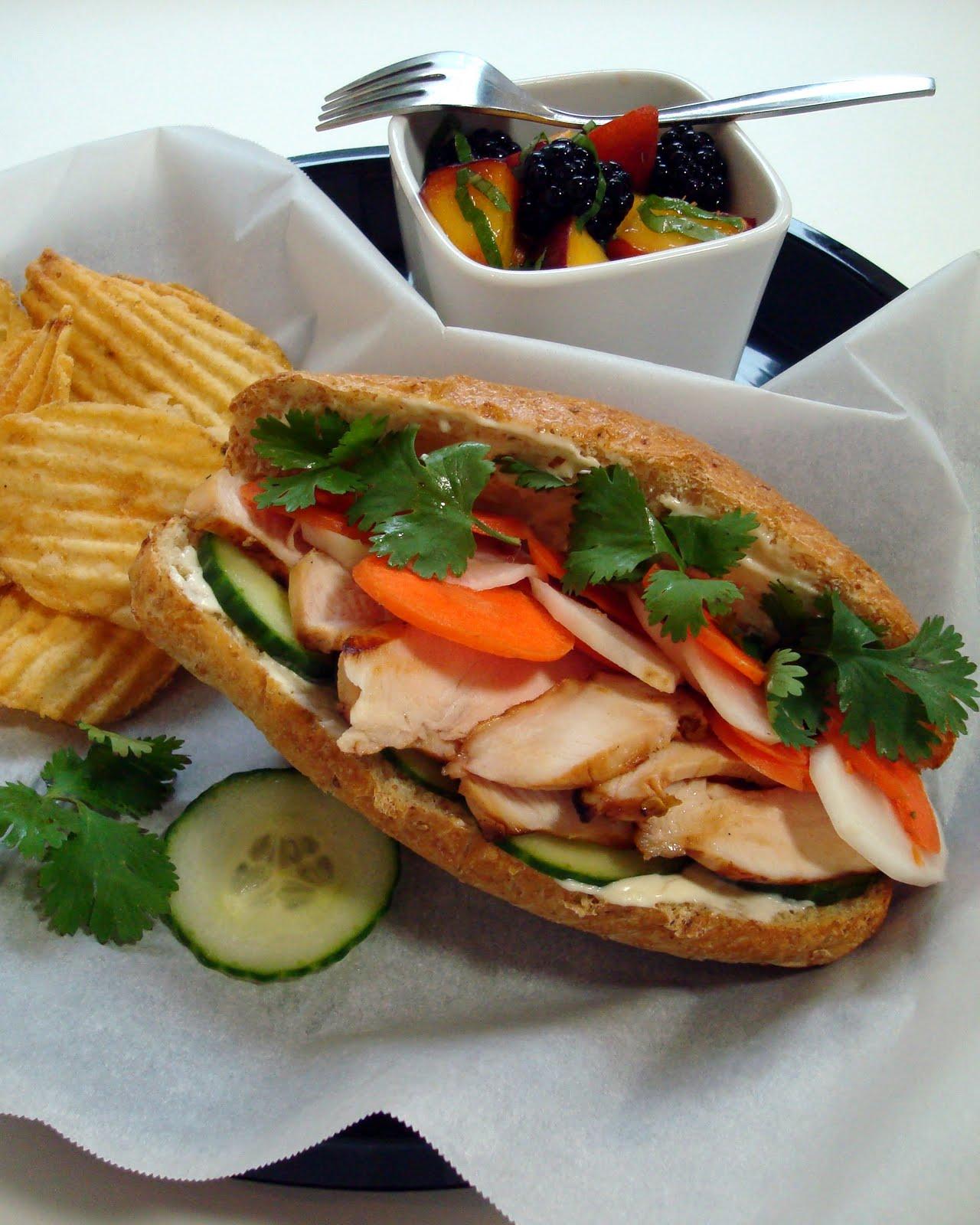 Vietnamese Banh Mi Sandwich - A Spicy Perspective