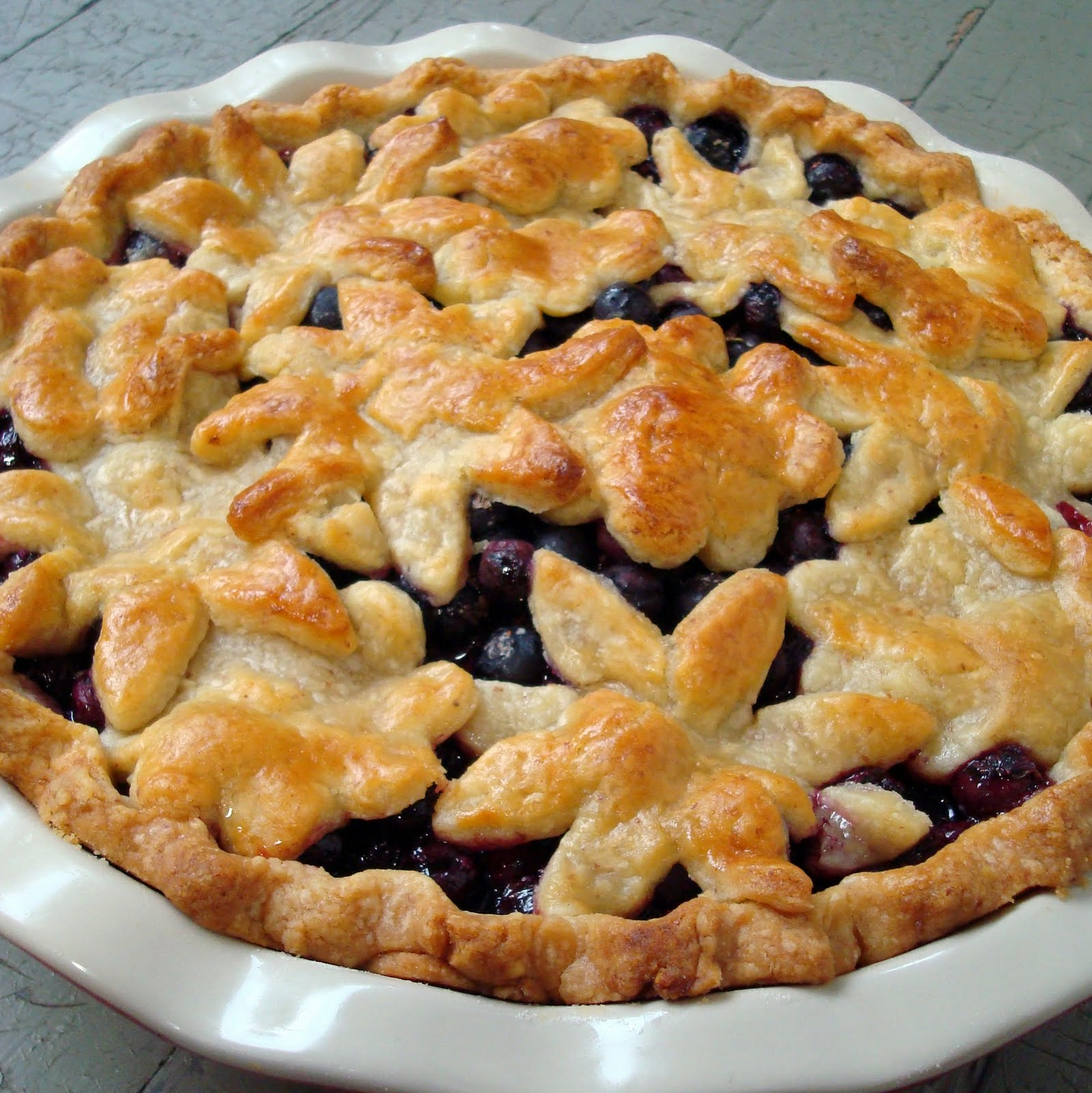Fresh Blueberry Pie - A Spicy Perspective