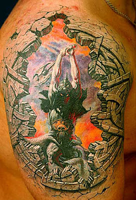 Amazing 3D Tattoos Design On The Body Gallery Picture 7