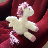 pegasus django pony pink white