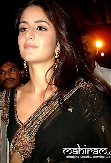 katrina kaif7 Katrina Kaif  In Saree Pictures