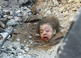 Niña palestina. Ni paz, ni futuro.