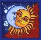 EL sol amando a la luna