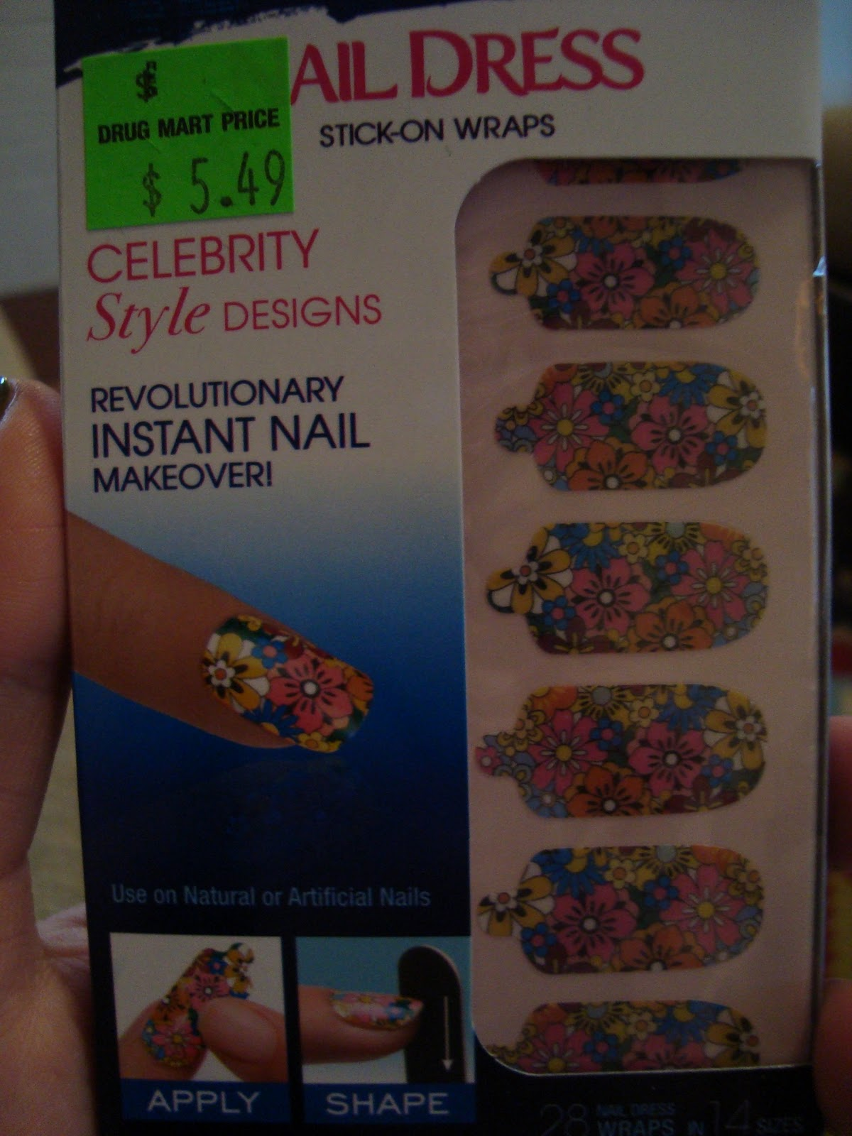 Short \'n Chic: Nail Stickers!!!