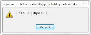 Teclado bloqueado