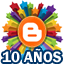 10 años Blogger