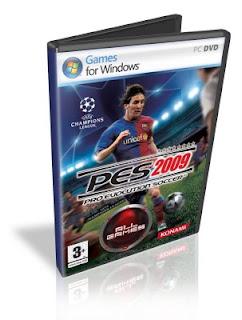 Pro Evolution Soccer 2009 PC GAMERIP COMPLETO