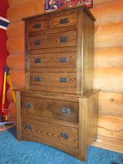 Ash Wood Dresser