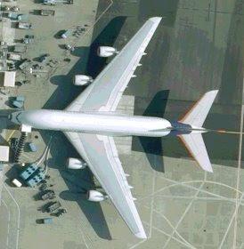 מטוס ה-איירבאס A380 בטולוז