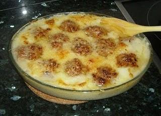 El rincon de nuestras cosas alb ndigas gratinadas con - Albondigas de patata ...