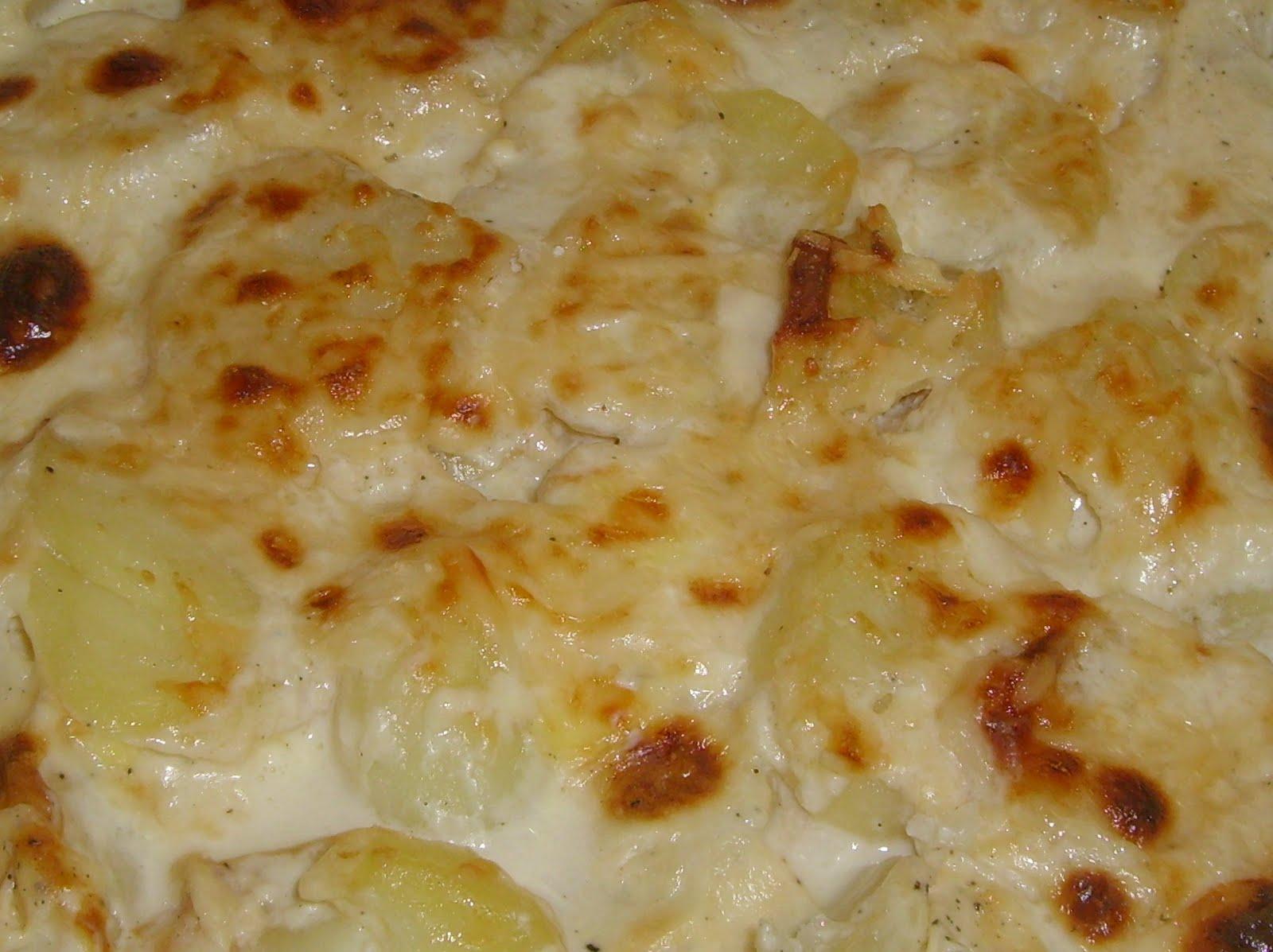 El rincon de nuestras cosas gratinado de patatas - Gratinado de patata ...