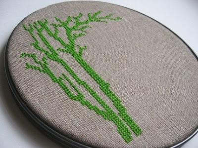 contempary cross stitch