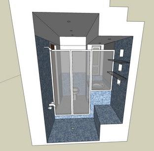 Casas ba o bajo escalera for Bano bajo escalera