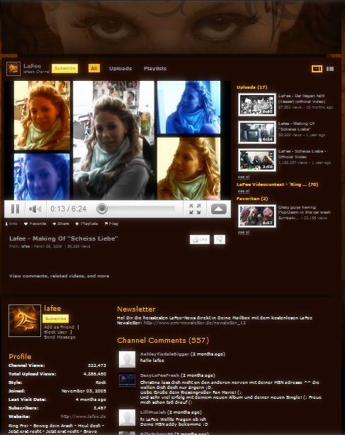 lafee homepage