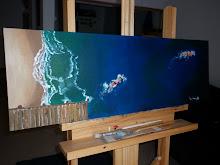 oceanica 2/acrilico 0.30x0.90