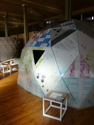 The pvblic blog igloos and things made from recycled for Things to make with recycled materials