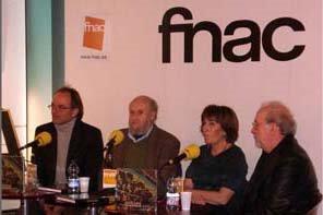 Presentación del libro en la  FNAC