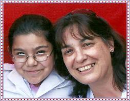 Mi seño Alejandra y yo