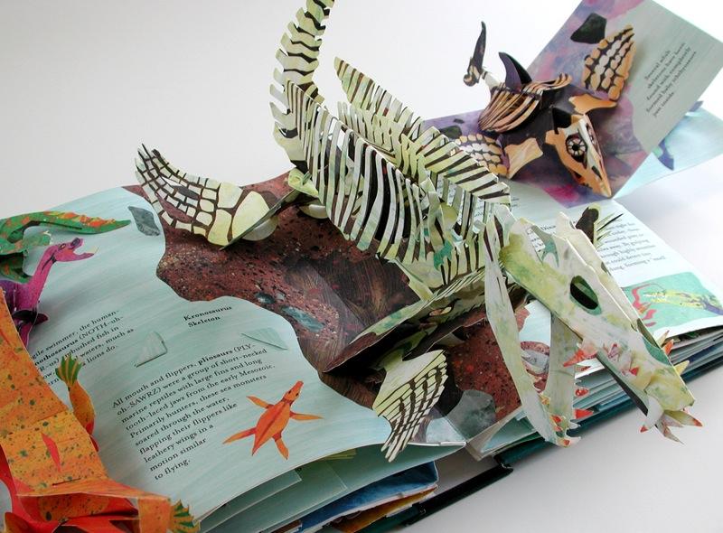 Объемные картинки в книге своими руками