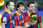 Messi ya  tiene dos a sus 23 años
