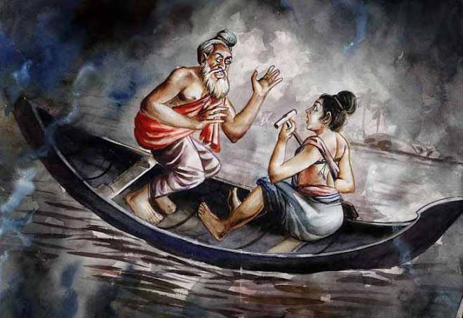 Parasaran and Sathyavadi of Vyasa