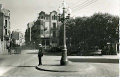 La Plaça de Crist Rei el 1959
