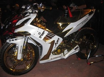 Yamaha Yupiter MX modifikasi