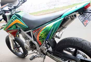 Modifikasi Motor on The Bests Of Motorcycle  Modifikasi Motor Cross Kawasaki Klx150