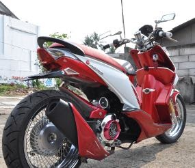 Modification Honda Beat