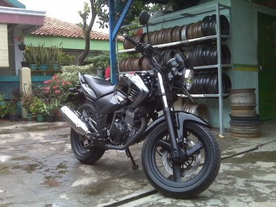 modifikasi honda tiger gaya