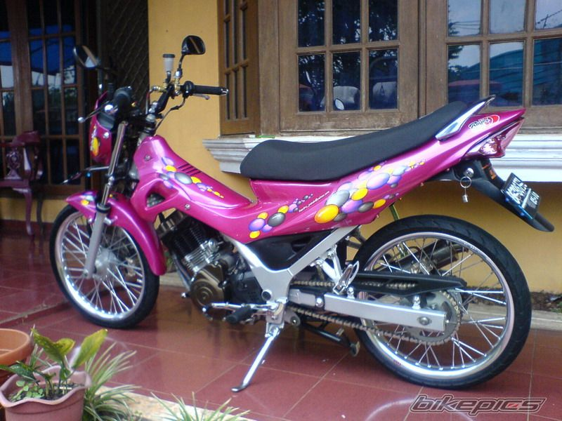 Suzuki Raider Velg TDR ET SHAPE Modification Specification Detail : title=
