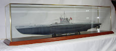 Submarine Display Case
