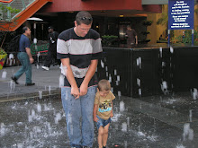 Easton and Daddy at Universal Studios