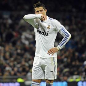 Cristiano Ronaldo fatigued during a match