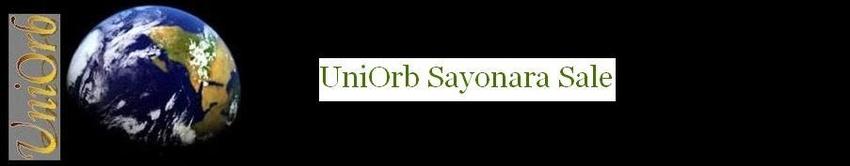 UniOrb Sayonara Sale