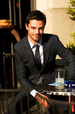 The Sartorialist: On the Street... Mama Mia, Milan :  black suit men shirt