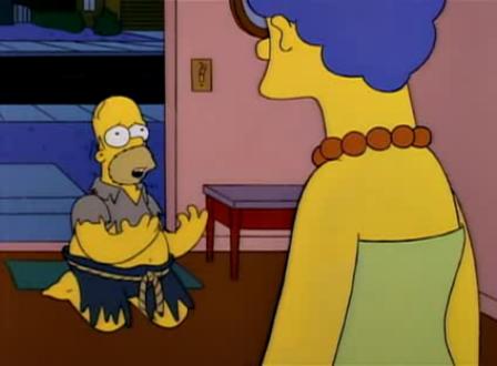 Homero y marge se separan anon publico - Bart simpson nu ...