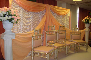 Beautiful Indian Wedding Stage Decorations