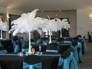Beautiful Black Wedding Reception Decorations