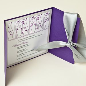 Purple And Silver Wedding Invitations 019 - Purple And Silver Wedding Invitations