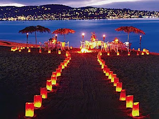Romantic Beach Wedding Decorations 2011