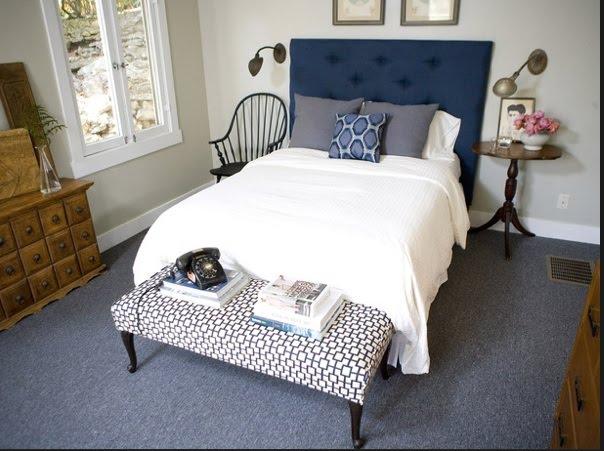 The Brass Petal Ians Master Bedroom