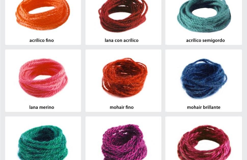 Gu a para tejer bien hilados y lanas - Lana gruesa para tejer ...