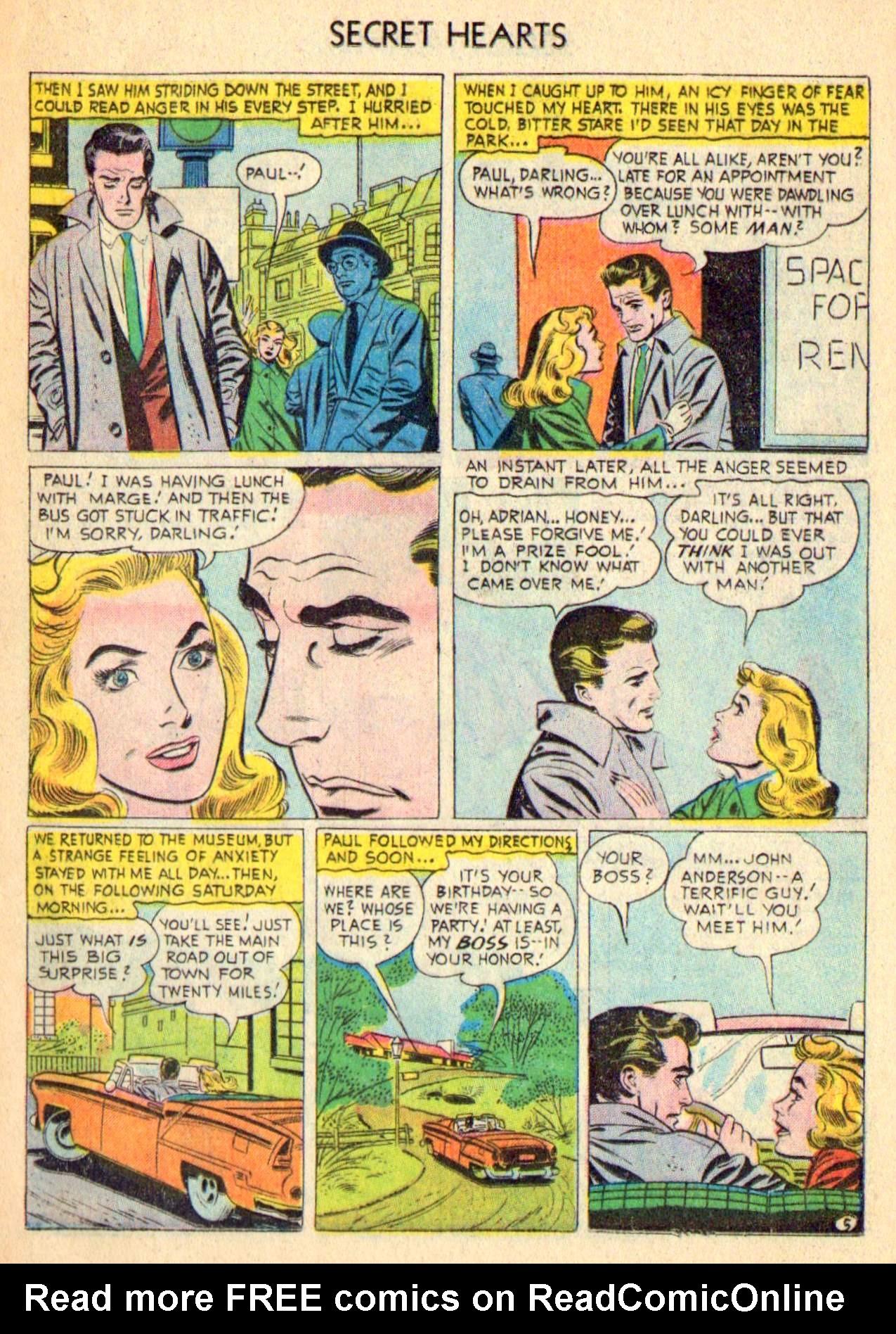 Read online Secret Hearts comic -  Issue #31 - 21