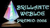 Brillante WeBlog, Premio 2008