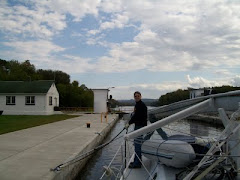 Locking thru on the Erie Canal