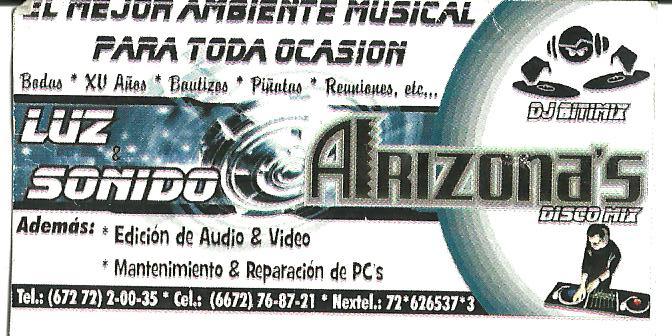 SONIDO ARIZONA'S