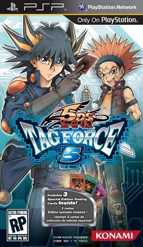 [Review]Yu-Gi-Oh 5ds Tag Force 5 Cover