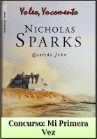¿Quieres ganar Querido Jonh, de Nicholas Sparks?